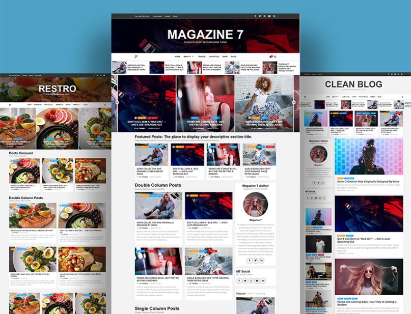 Free Magazine Theme Magazine 7