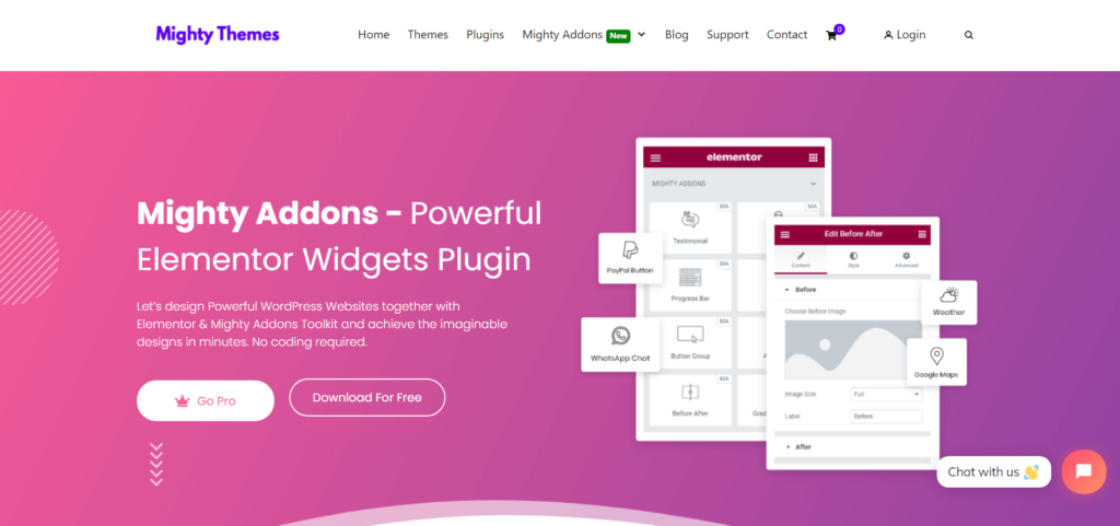 Mighty Addons